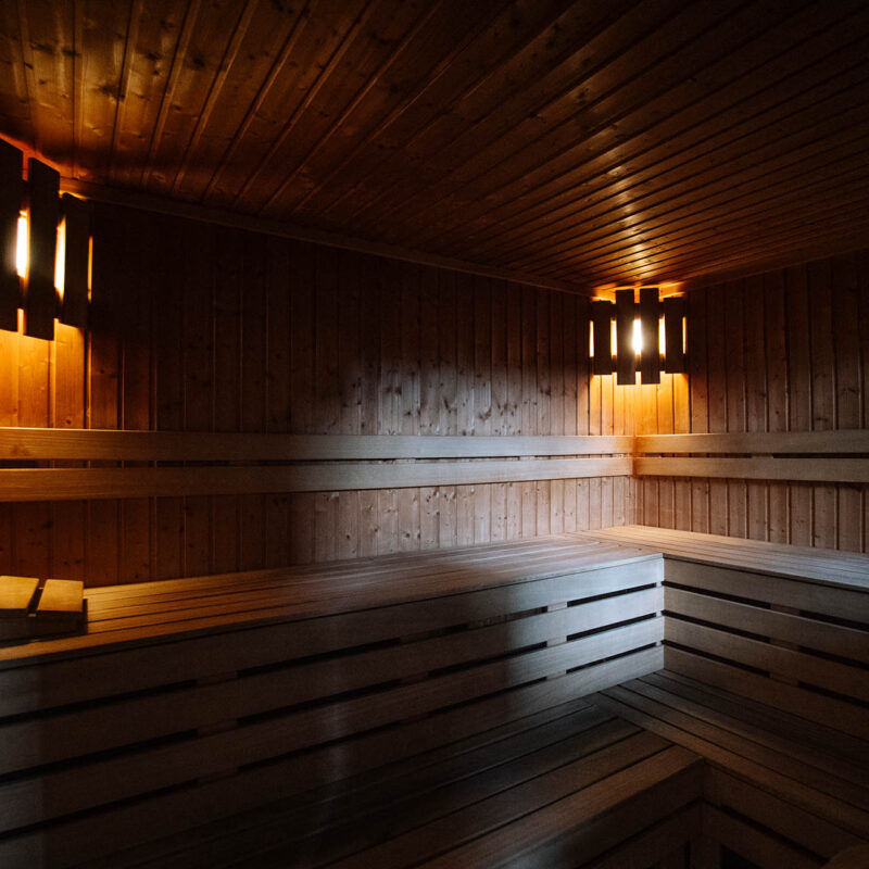 Strefa relaksu z sauną suchą i infrared