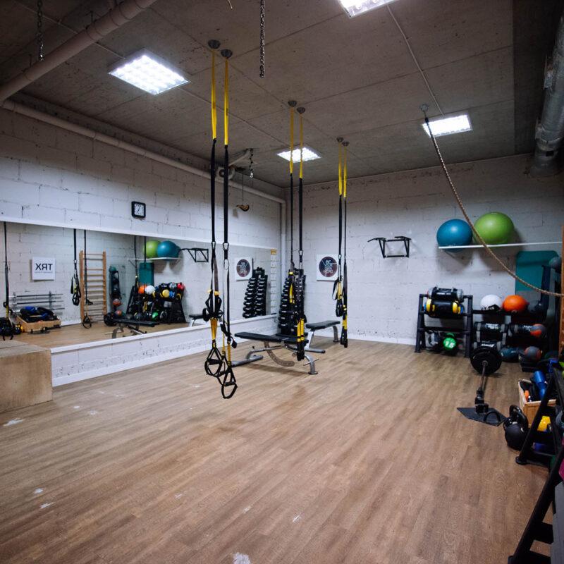 Strefa treningu funkcjonalnego i TRX